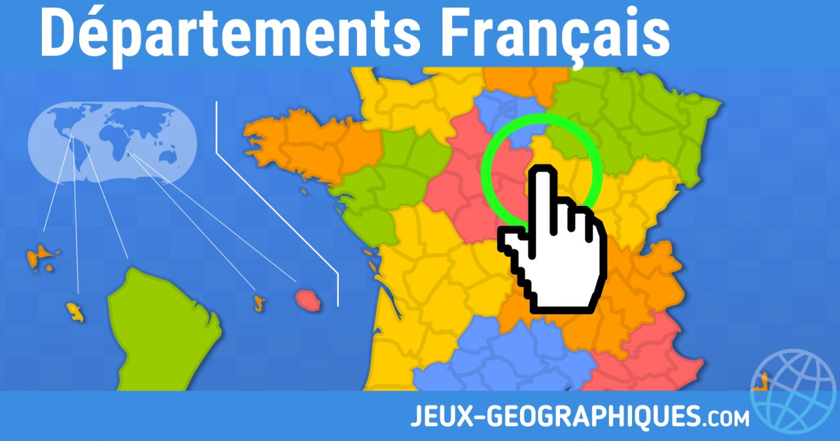Super jeux-geographiques.com jeux gratuits Jeu Departements francais KH19
