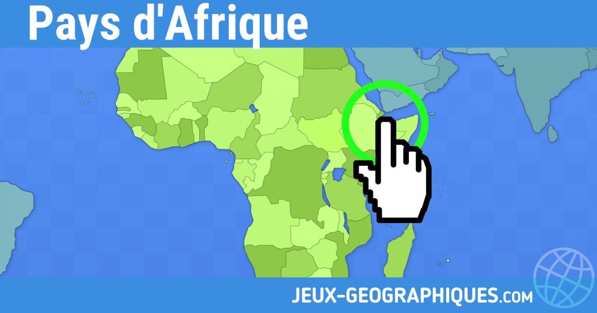 Carte Afrique Sans Pays.Jeux Geographiques Com Jeux Gratuits Jeu Pays D Afrique