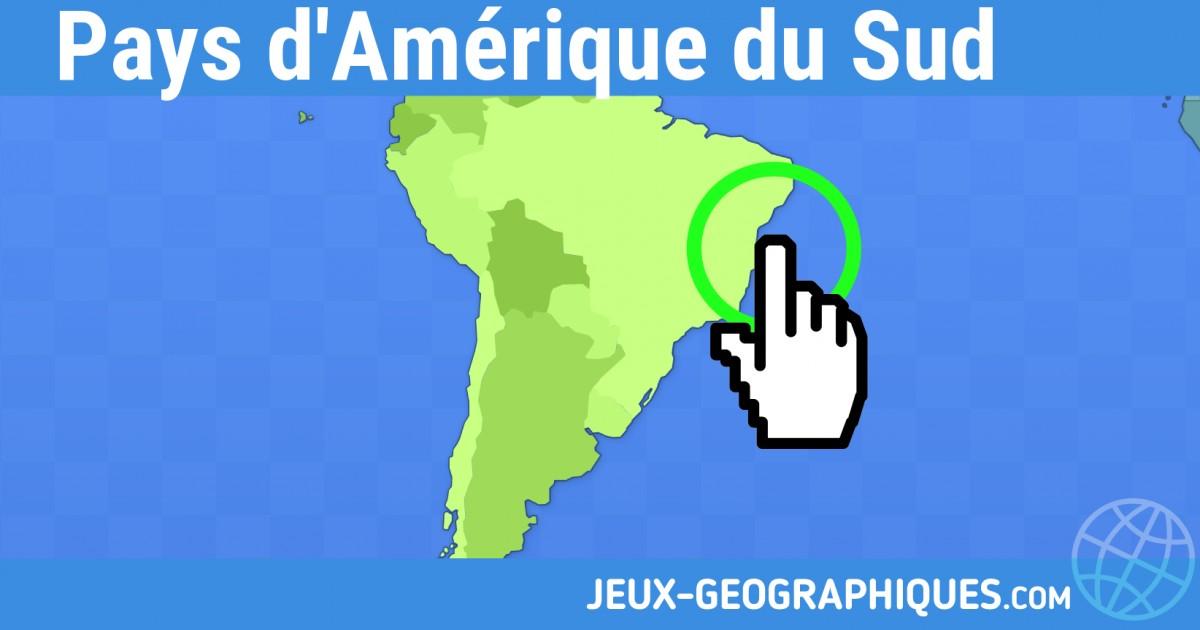 Carte Afrique Quiz.Jeux Geographiques Com Jeux Gratuits Jeu Pays D Amerique Du Sud