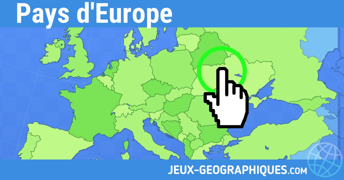 carte europe physique cm1