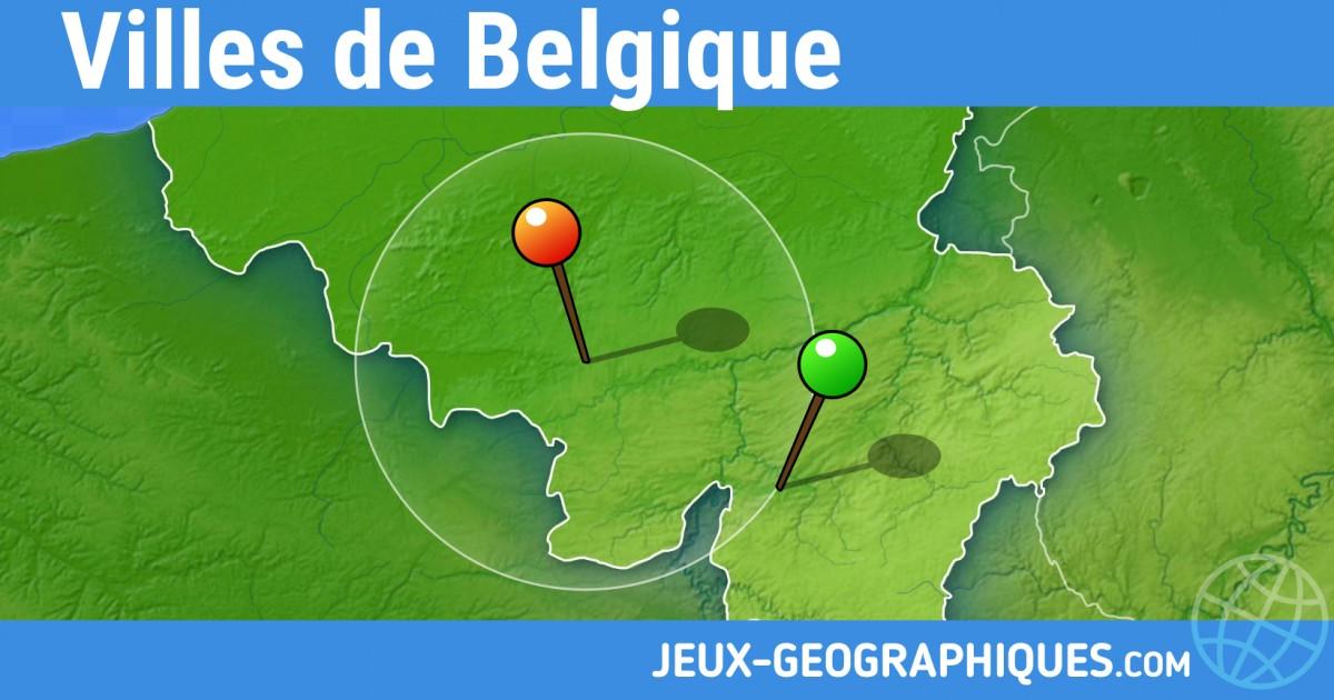 Carte Belgique Jeux.Jeux Geographiques Com Jeux Gratuits Jeu Villes De Belgique