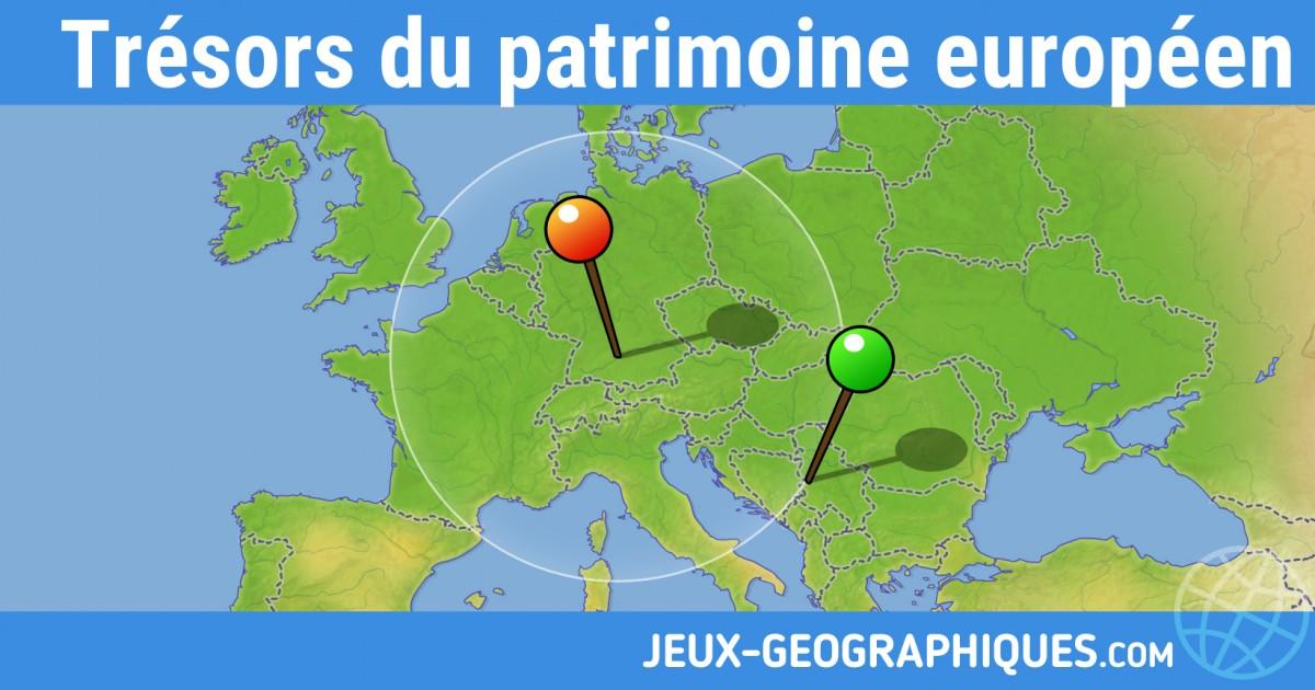Jeux Geographiques Com Jeux Gratuits Tresors Du Patrimoine Europeen