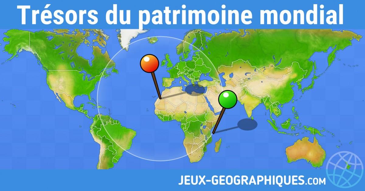 Jeux Geographiques Com Jeux Gratuits Tresors Du Patrimoine Mondial